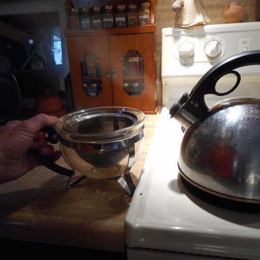 Préparation du thé - 1
