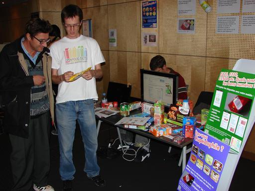 Présentation du projet libre de collecte d'étiquettes alimentaires