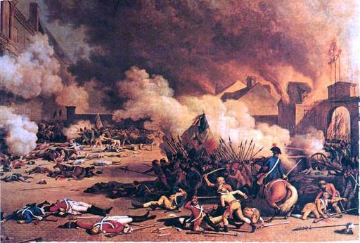 Prise des Tuileries en 1792