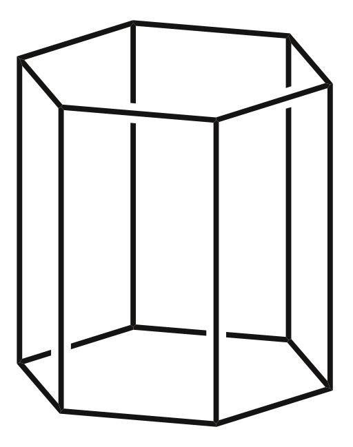 Prisme hexagonal