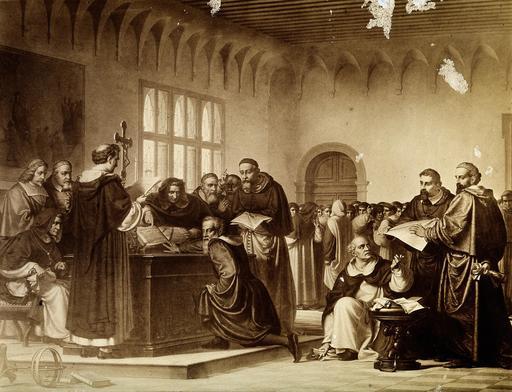 Procès de Galilée par l'Inquisition en 1633