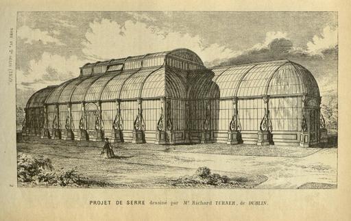 Projet de serre en 1861