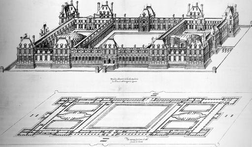 Projet du château des Tuileries