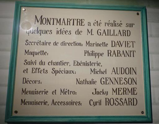 Projet Montmartre au musée des automates
