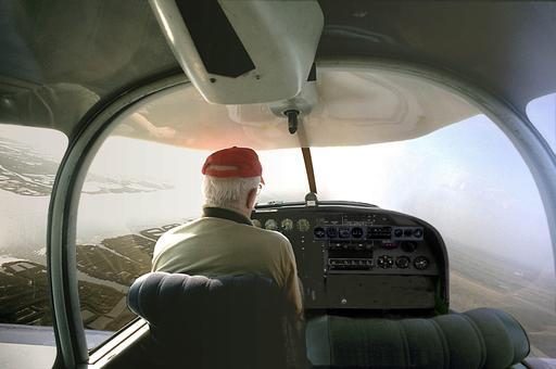Prospection aérienne par Jacques Dassié