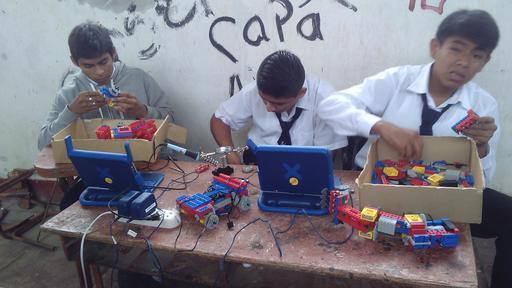 Prototype de robot en Legos