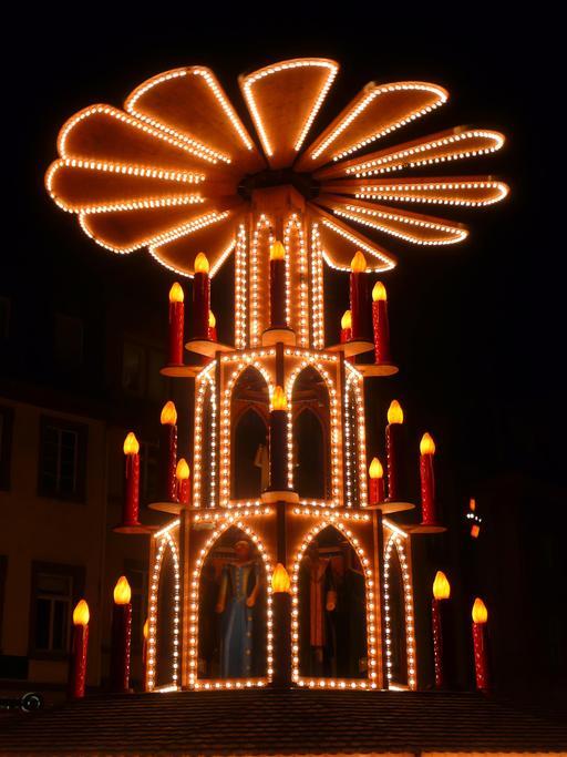 Pyramide de Noël en Allemagne