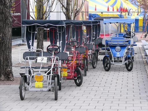 Quadricycles à Montréal