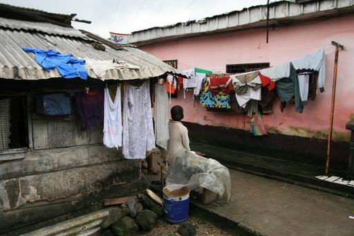 Quartier de Bessengue à Douala