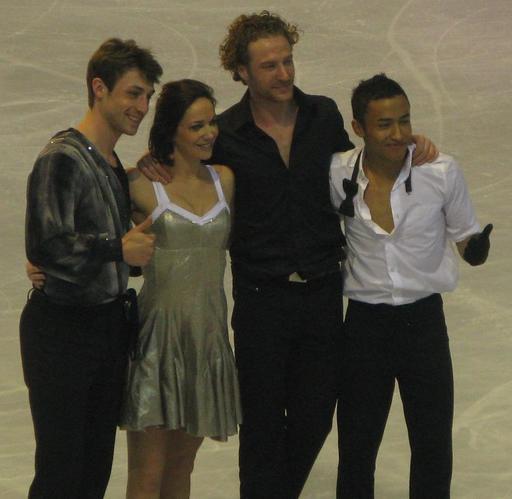 Quatre champions de patin à glace en 2012