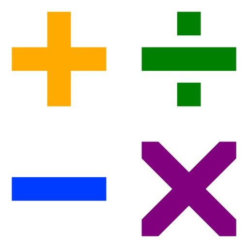 Quatre symboles arithmétiques
