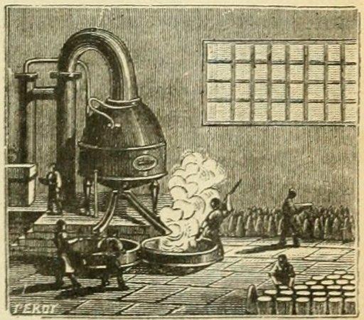 Raffinerie de sucre à Nantes
