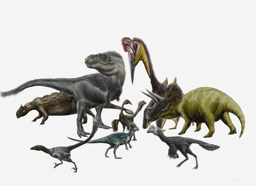 Reconstitution d'animaux préhistoriques