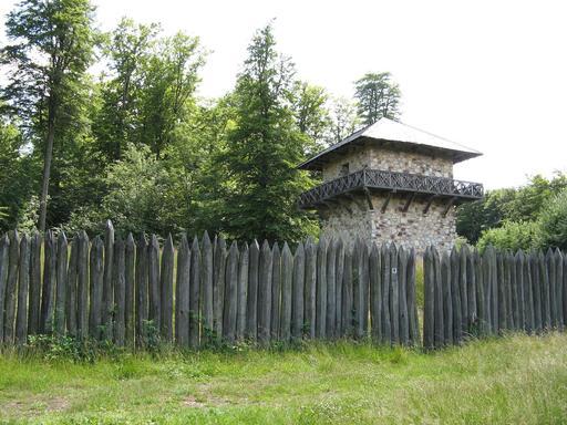 Reconstitution de fort romain