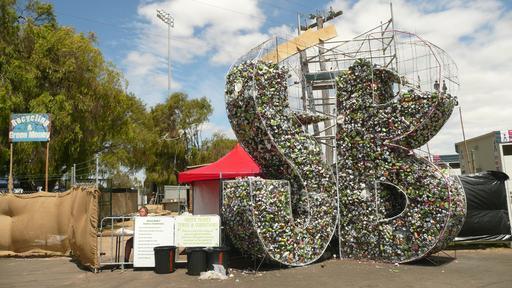 Recyclage artistique en Australie