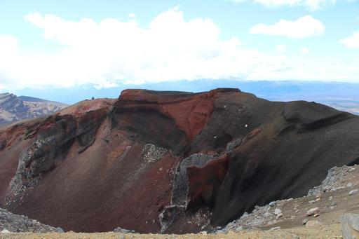 Cratère Rouge en Nouvelle-Zélande