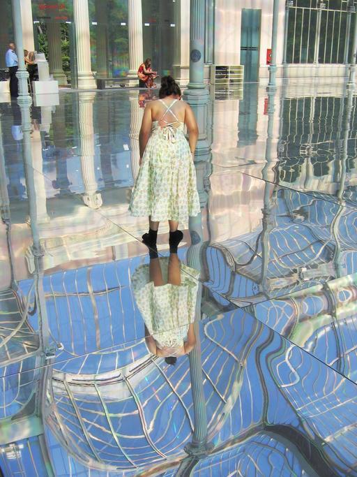 Reflets dans le Palais de Cristal