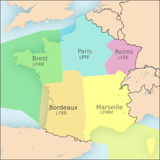 Régions d'information de vol en France