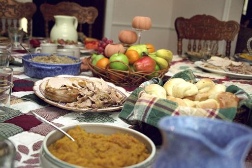 Repas traditionnel pour Thanksgiving