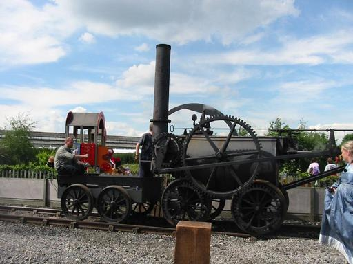 Réplique de la locomotive de 1804