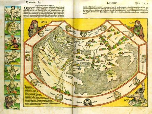 Représentation du monde au XVème siècle