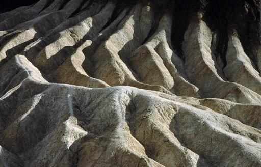 Réseau de ravines de la Vallée de la Mort