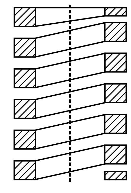 Ressort en fil rectangulaire