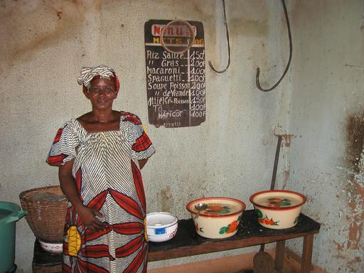 Restaurant au Burkina Faso