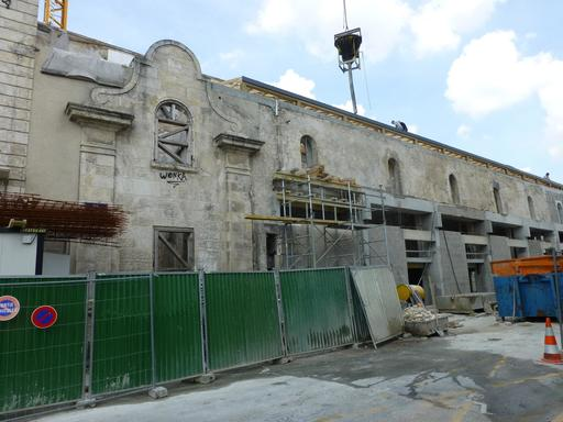 Restauration de monument historique à La Rochelle