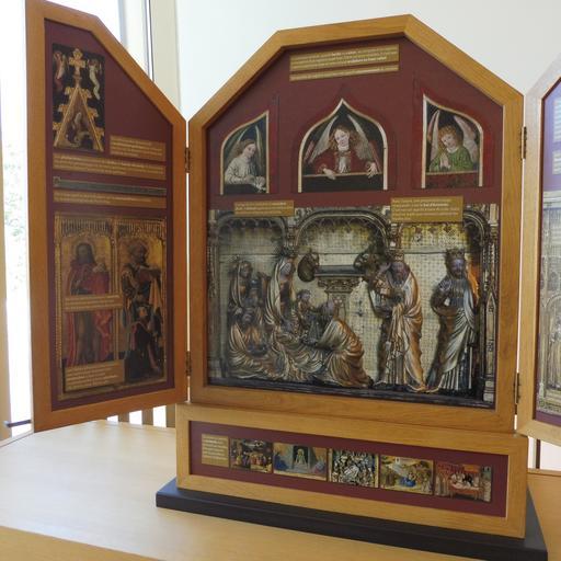 Rétable de présentation au musée des beaux-arts à Dijon