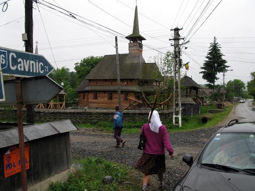 Retour des champs en Roumanie