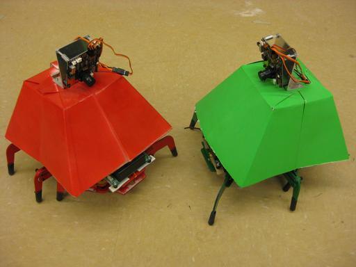 Robots hexapodes