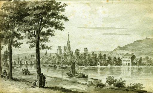 Rouen en 1806