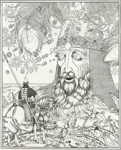 Rouslan et la tête du géant