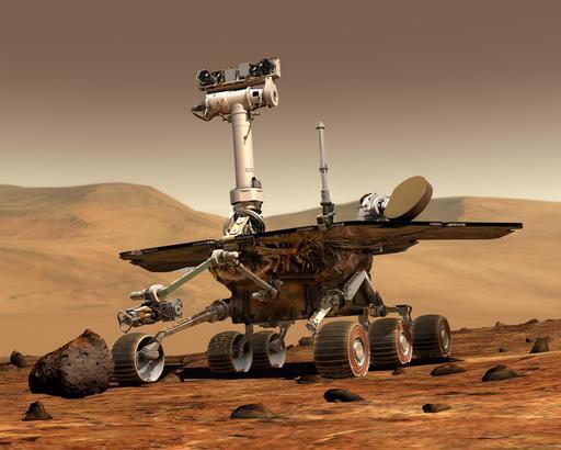 Rover d'exploration sur Mars