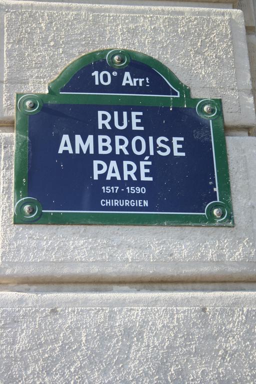 Rue Ambroise Paré à Paris