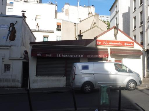 Rue des maraichers à Paris