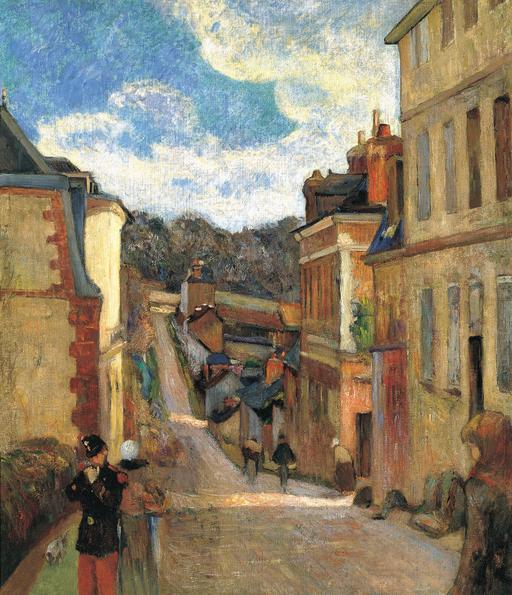 Rue Jouvenet à Rouen