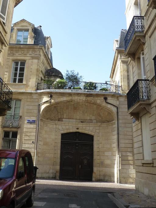 Rue Poquelin Molière à Bordeaux