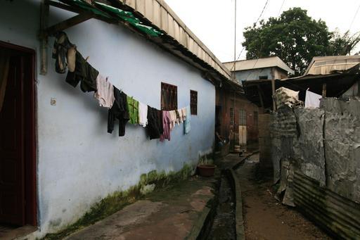 Ruelle de Bessengue à Douala