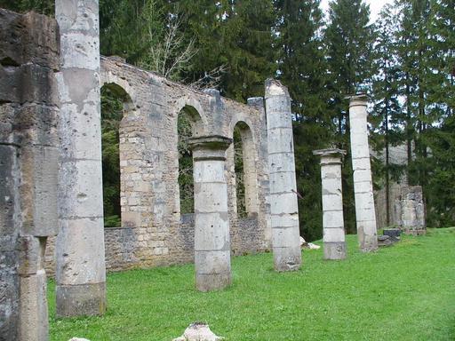 Ruines de l'église d'Ornes