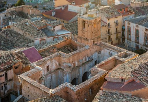 Ruines de l'église San Pedro d'Ariza
