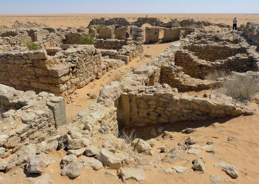 Ruines du fort romain de Tisavar