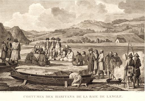 Sakhaline en Russie en 1797