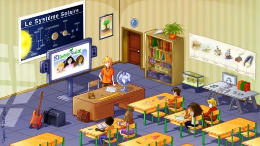 Salle de classe Abulédu