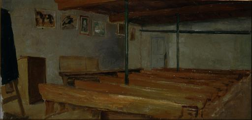 Salle de classe au XIXème siècle