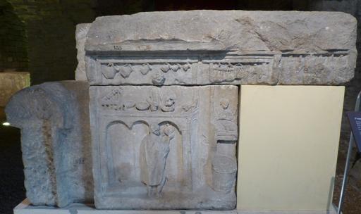 Salle gallo-romaine au musée archéologique de Dijon