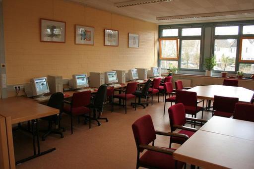 Salle informatique à Bonn