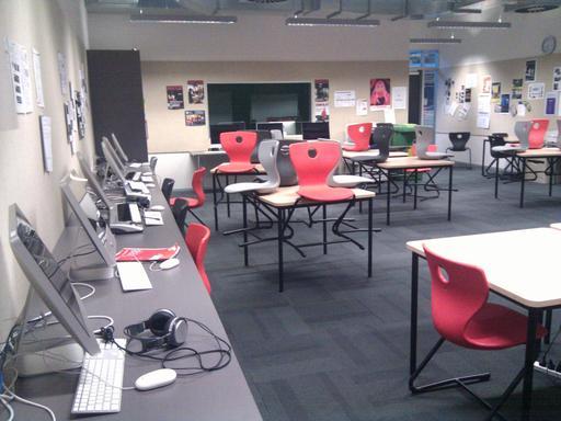 Salle multimédia en Nouvelle-Zélande