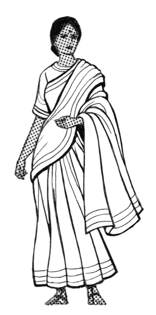 Indienne en Sari